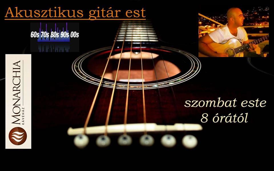 akusztikus gitár est